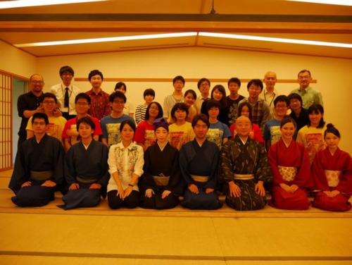 2015年6月7日、再会した蔵の会とEK @東大駒場キャンパス和館